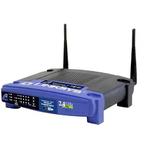 Linksys WRT54G Wireless-G Router