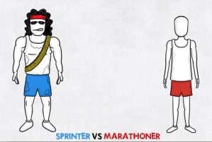 The Sprinter vs. the Marathoner
