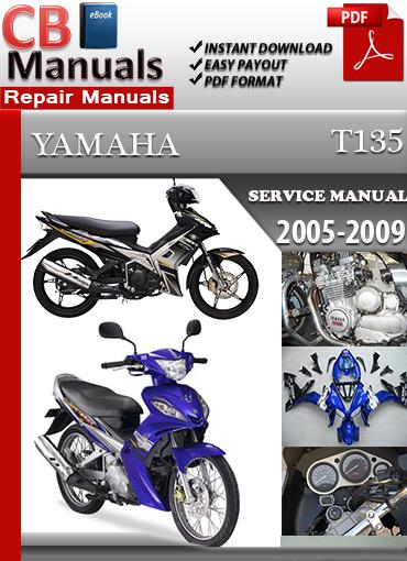 Yamaha T135 2005-2009 Maintenance Manual Technical Repair Manuals