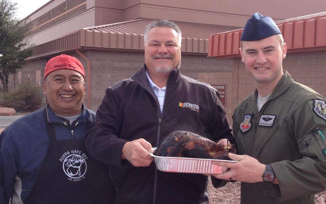 Thanksgiving Turkeys 66th Rescue Squadron