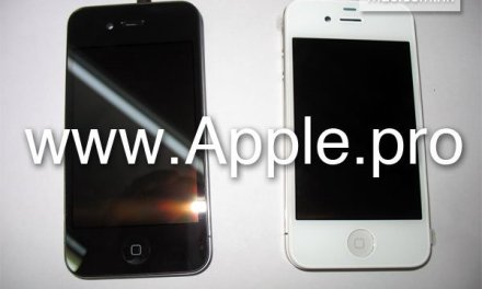 New iPhone 4G surfaces with white front panel surface