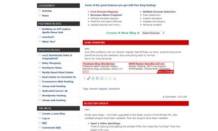 Web host criticized for closing blog service