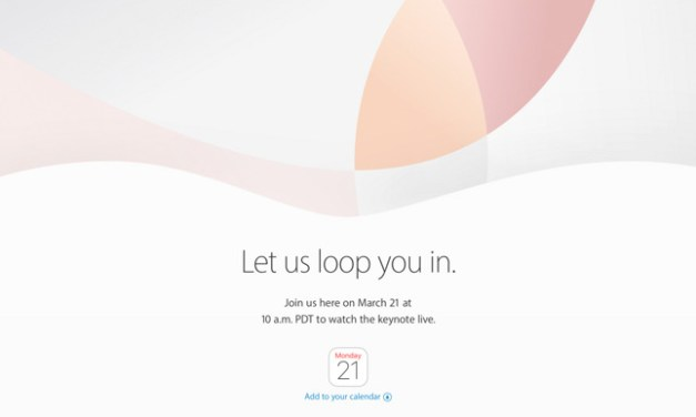 Apple Event Now Set for March 21st