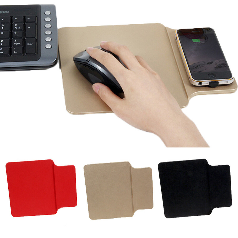 Kabelloses Laden Mousepad Mit Qi Charger Für Kabelloses Laden