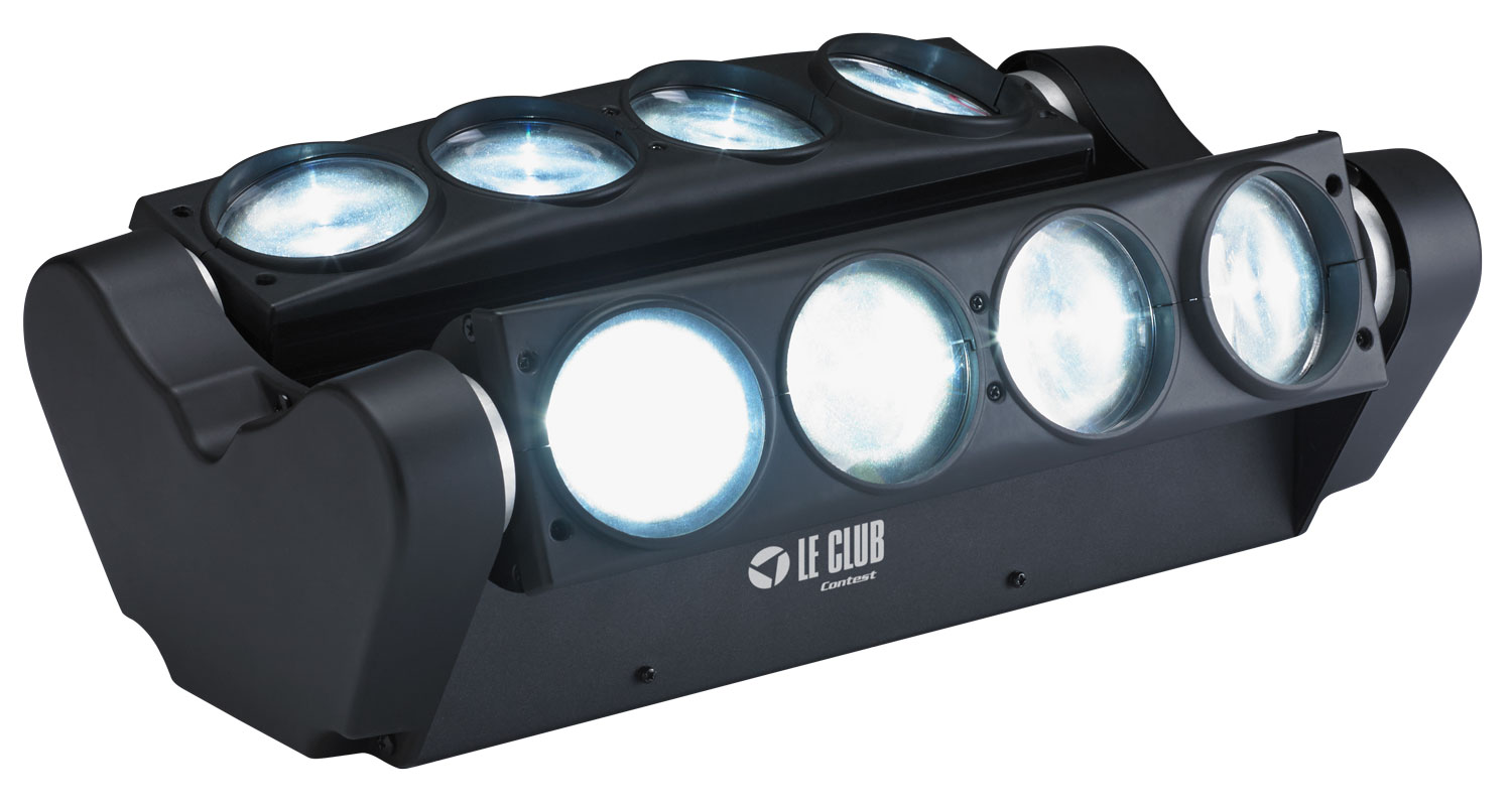 Eclairage Barre Led Barre Led Contest Wave 8x10wh En Vente Sur Technimusic