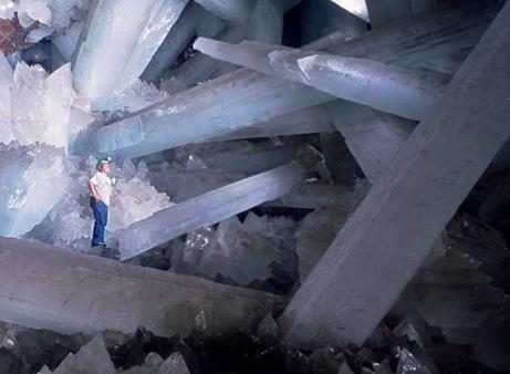 crystal cave Cueva de los Cristales
