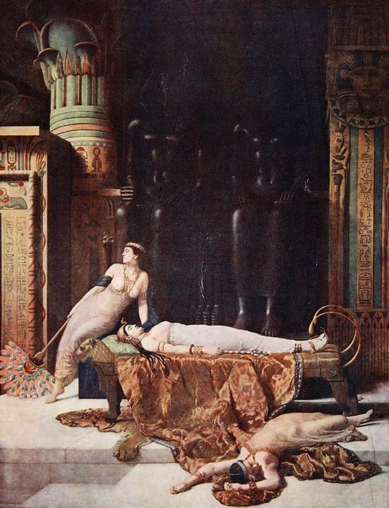John Collier - The Death of Cleopatra -1910