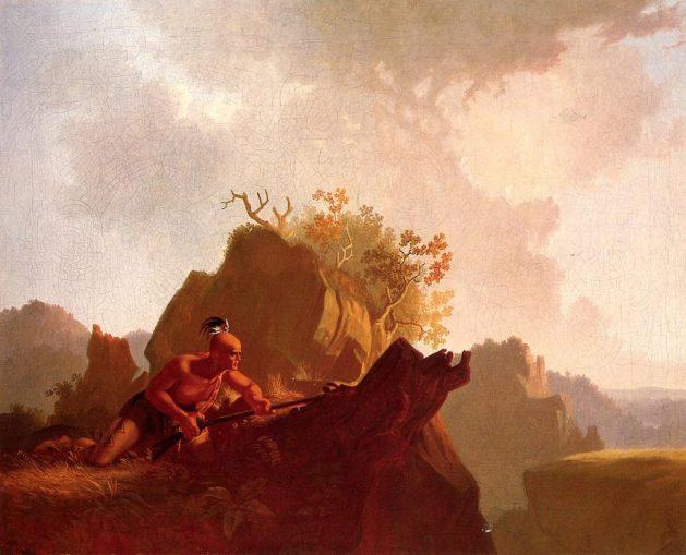George-Caleb-Bingham -The Concealed Enemy