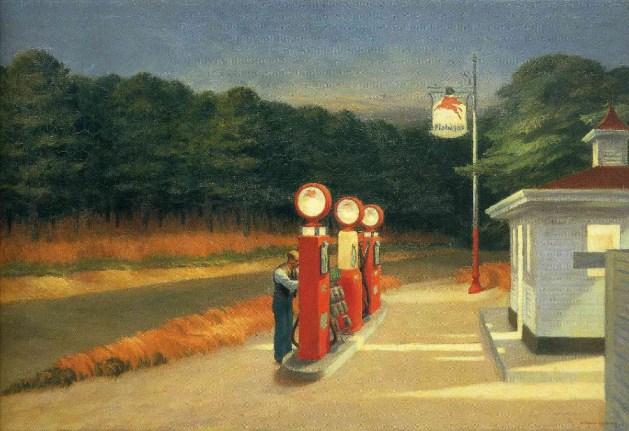 Edward Hopper - Gas - 1940