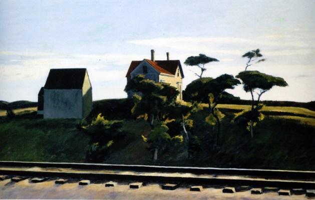 Edward Hopper - New York, New Haven, and Hartford - 1931