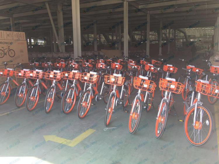 Tianjin Aima is a bicycle manufacturer that received an order from Mobike for 5 million bikes in 2017.