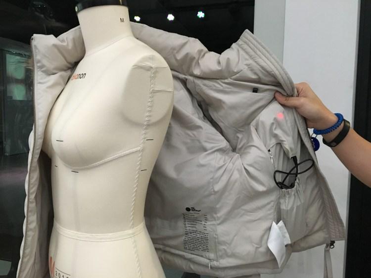 The jacket (Image Credit: TechNode)