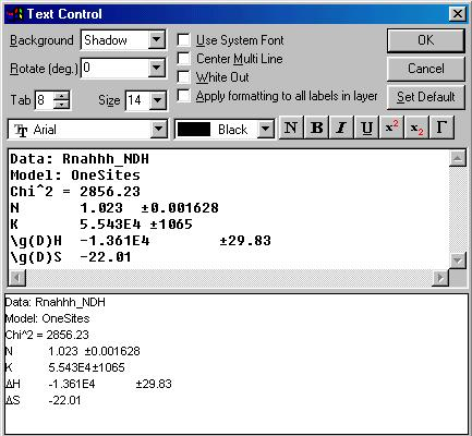 Lesson 1 Routine ITC Data Analysis and Fitting Routine ITC Data - data analysis format