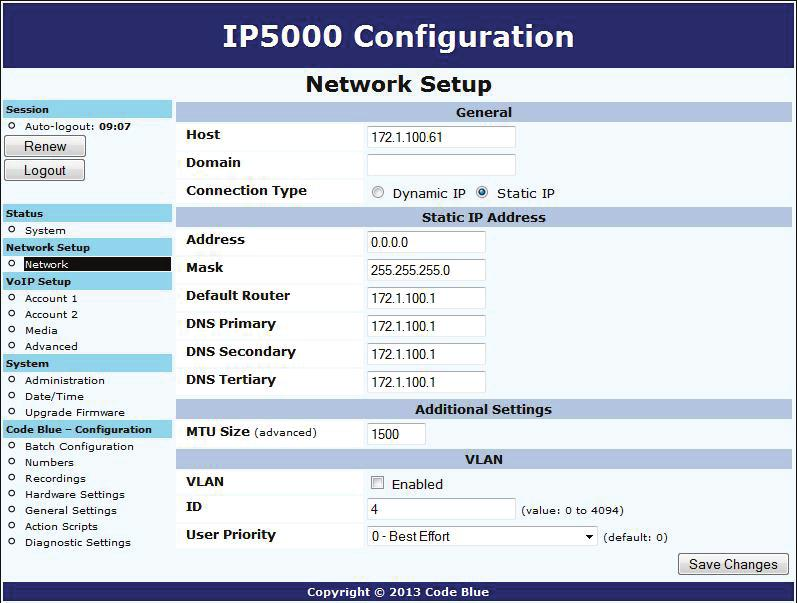 IP Series Administrator Guide VoIP Speakerphone Installation
