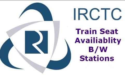 irctc train seat availablity between two stations