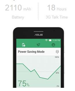 AUSU ZENFONE 5 A501CG battery life
