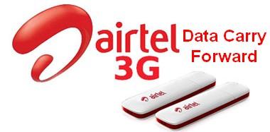 airtel 3g data carry forward