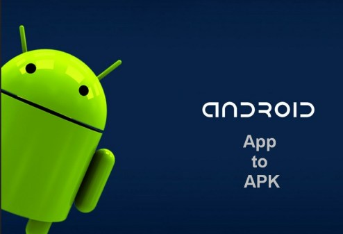 convert android app to apk