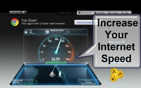 increase internet download speed