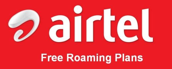 airtel free roaming plans