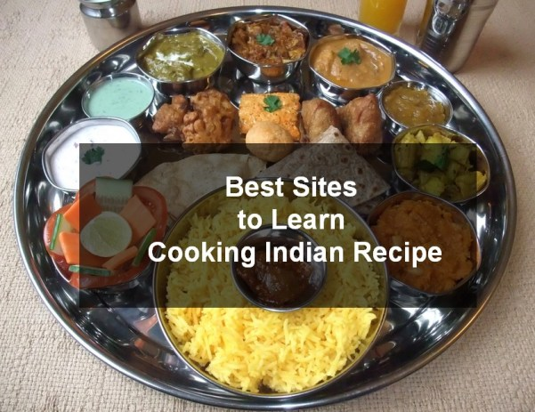 best site to learn cooking indian recipe
