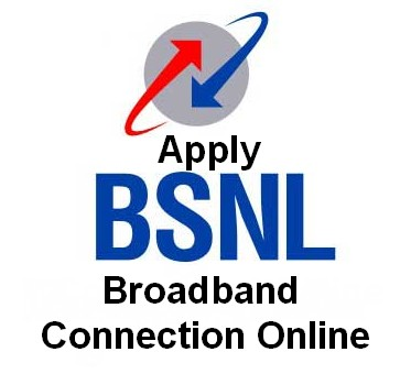 how to apply bsnl broadband connection online