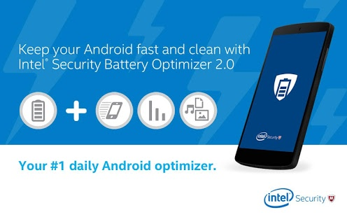 Battery Optimizer and cleaner by intel security