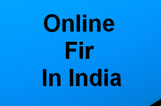 how to make online FIR in India