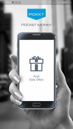 Open the Pokkt App.
