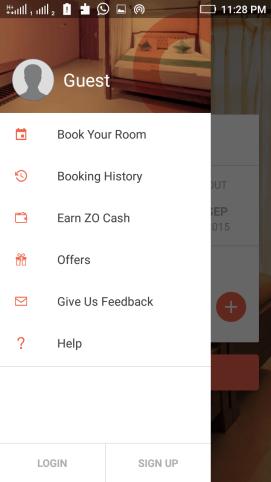 zo free rooms