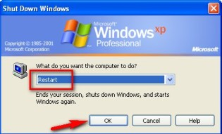 Restart your PC again