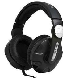 Sennheiser HD 215 || Closed Back Studio DJ Headphones