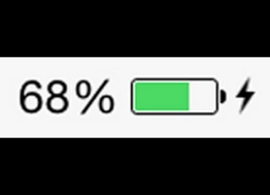 How to Show Battery Percentage on iPhone/iPad (80% Remaining)