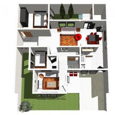 Desain Rumah Sederhana Denah Rumah Minimalis Kamar