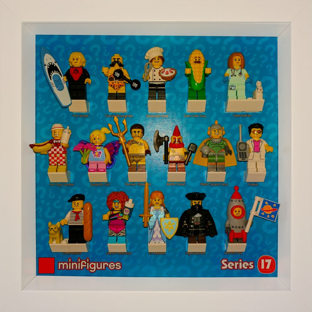 Ribba Frame Lego® Minifigures Series 17 Background | The Technologist