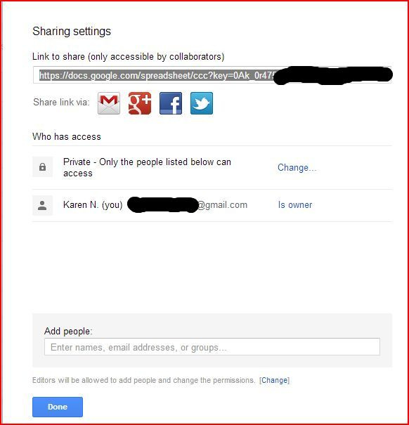 How to create a digital sign up sheet with Google Drive - Technology - class sign in sheet