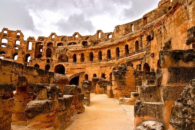 El Jem's colosseum