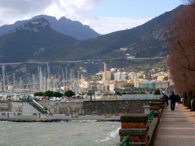 Salerno foreshore