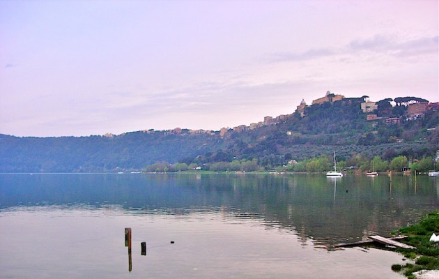 Lago Albano and Castel Gandolfo