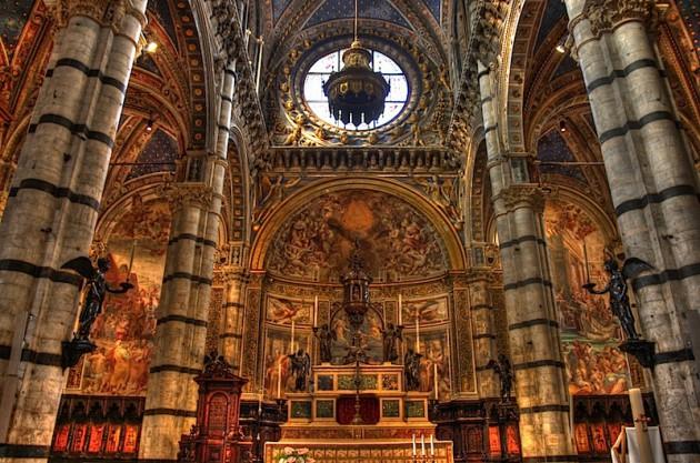 Siena Duomo, HDR, 5