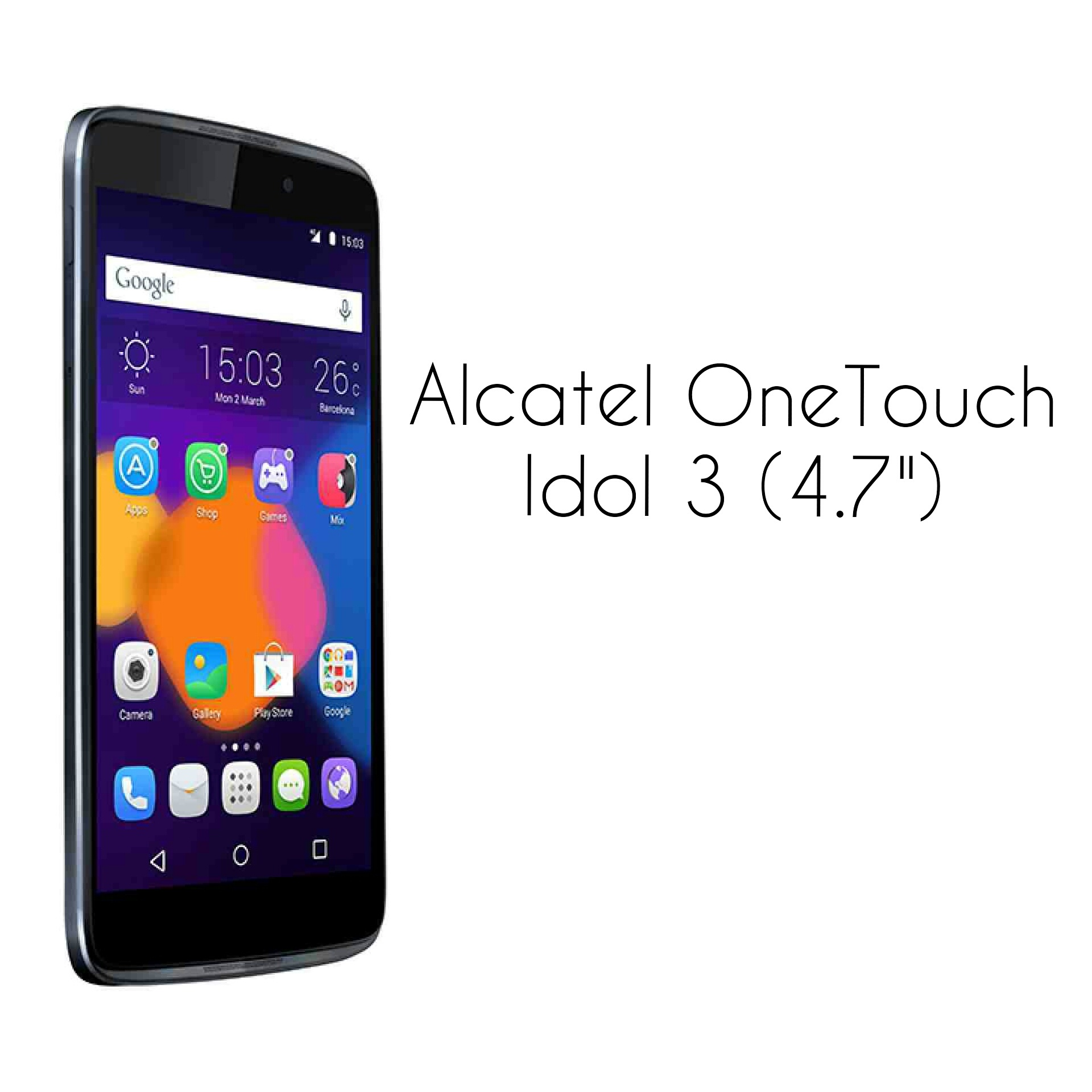 Alcatel One Touch Idol Libre The Alcatel One Touch Idol 3 4 7 Specifications And