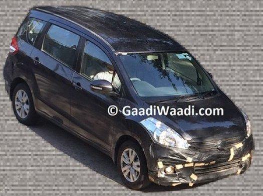 Maruti Suzuki Ertiga facelift 2015 1
