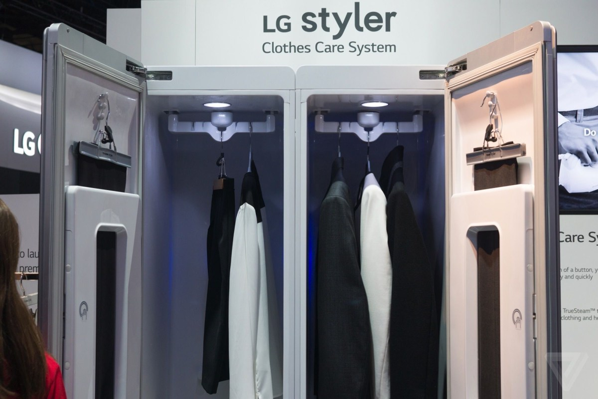 LG makes even normal appliances seem weird at CES 2015