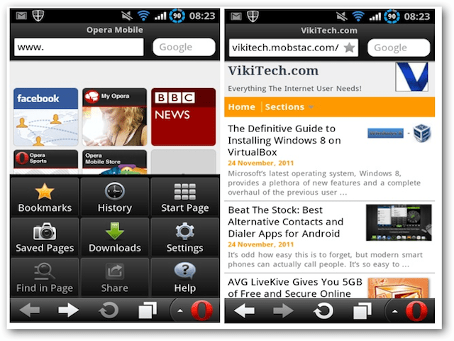 App Browser Best Alternative Web Browsers For Android - Beat The Stock