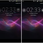 Get XPeria Z Jelly Bean LockScreen on your Android ICS XPeria Phone