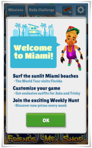 Subway Surfer Miami Weekly Hunt