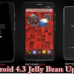 Motorola Droid Maxx, Mini, Ultra, Moto X Android 4.3 Jelly Bean Update