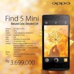 Oppo Find 5 Mini 4.7″ SmartPhone at CES 2014