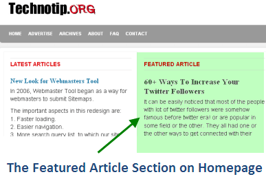 Featured-section
