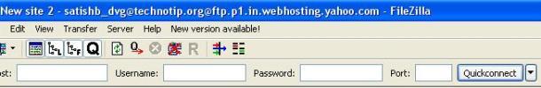 FileZilla-server-name-user-name-passowrd-field